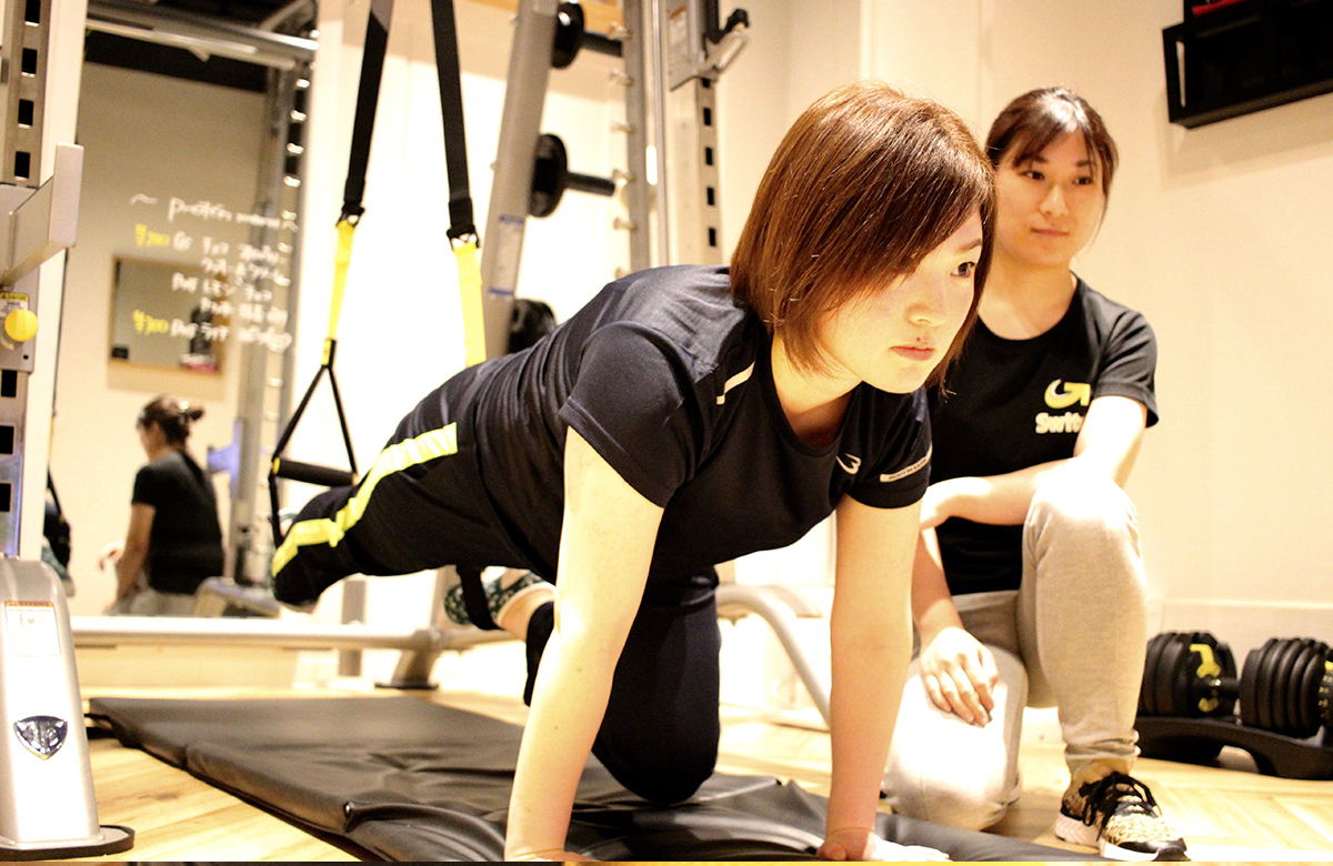 パーソナルトレーニングの写真1